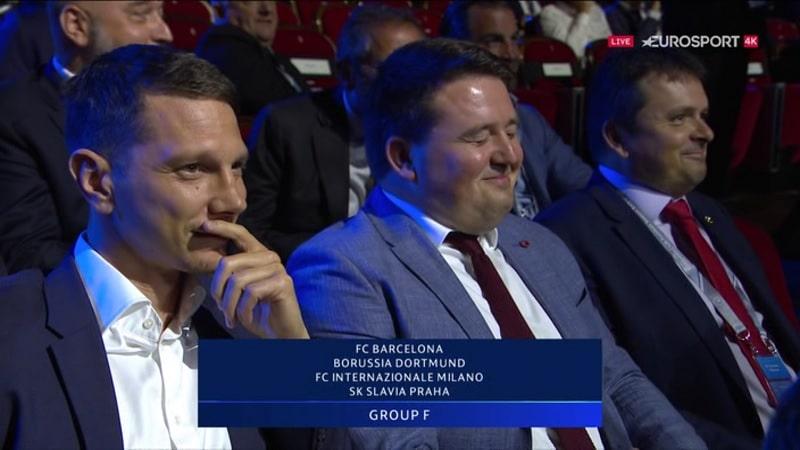 Video: Slavia Praha arvottiin järjettömän kovaan lohkoon – seurajohto ei voinut kuin nauraa
