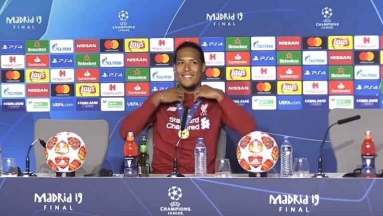 UEFA julkisti ehdokkaat vuoden pelaajaksi – Virgil Van Dijk haastaa supertähdet