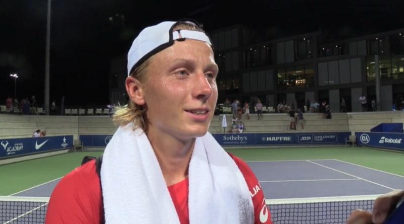 Emil Ruusuvuori ATP tennis