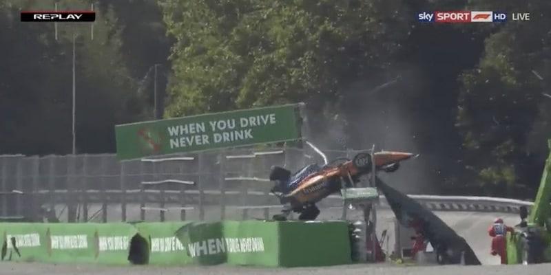 Video: Uusi kuvakulma paljastaa F3-kisan kolarin vaarallisuuden – myös ratavirkailijat olivat suuressa hengenvaarassa
