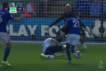 Harry Kane viimeisteli fantastisen osuman - Leicester kaatoi kuitenkin Spursin