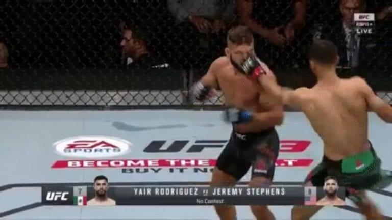 Video: Jeremy Stephens ei saanut silmäänsä auki – UFC-illassa 15 sekunnin pääottelu, yleisö raivostui