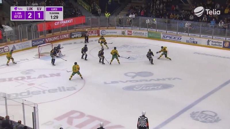 Oskari Laaksonen pommi vs Lukko 2019