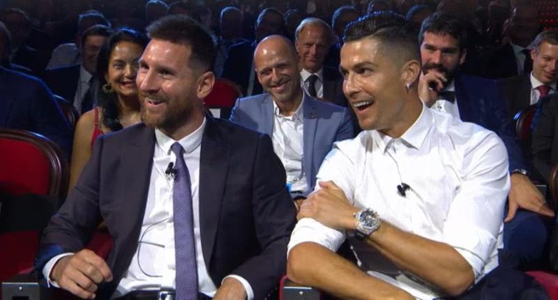 Lionel Messi Cristiano Ronaldo FIFA