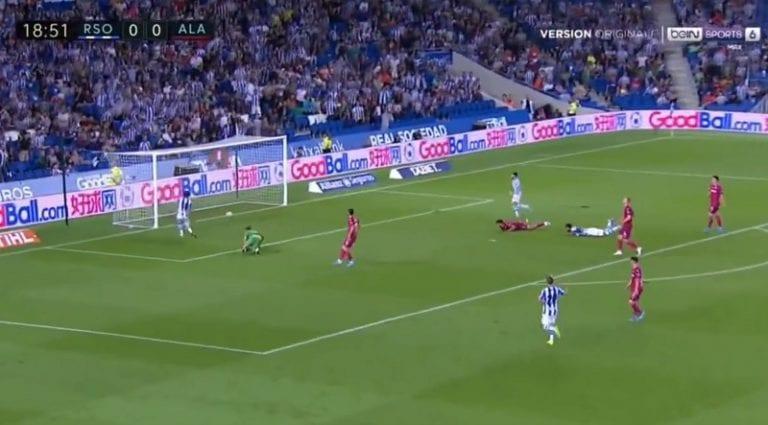 Video: Martin Ødegaard antoi käsittämättömän syötön Real Sociedadin voittomaaliin