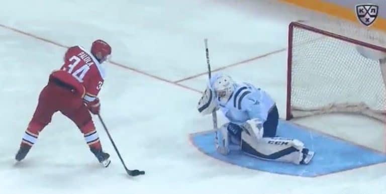 Video: Olli Palola nöyryytti rankkarimaalillaan Ufa-veskaria KHL:ssä