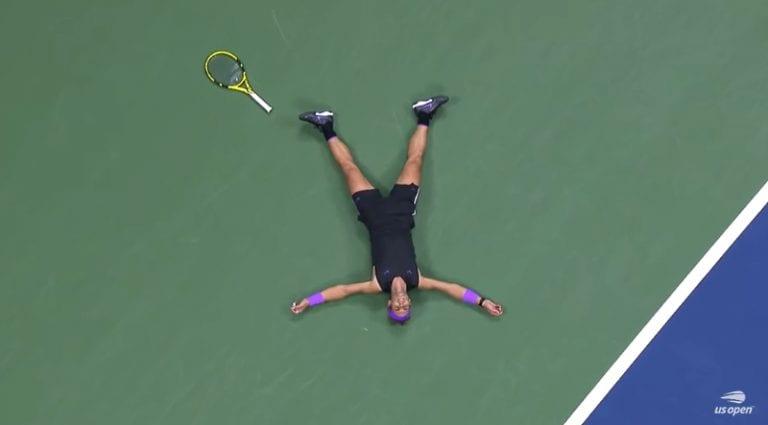 Video: US Openin finaalista muodostui trilleri – Rafael Nadal vei voiton viisituntisen taiston jälkeen