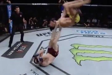 Video: UFC-ottelija esitteli aivan järjettömiä temppuja kesken ottelun