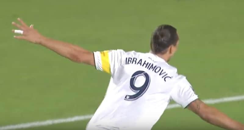Video: Zlatan Ibrahimovic paukutti hattutempun – rikkoi Galaxyn yhden kauden maaliennätyksen