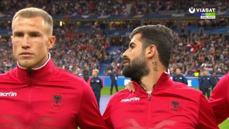 Video: Ranska-Albania-ottelun kansallislaulusekoilu johti sakkoihin ja virallisiin anteeksipyyntöihin