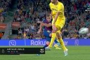 Video: Arthur tykitti Barcelonan voittoon - tajuton pommi 25 metristä