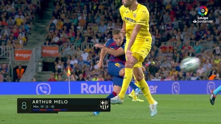 Video: Arthur tykitti Barcelonan voittoon – tajuton pommi 25 metristä
