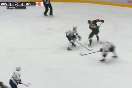 Video: Upea yksilösuoritus VHL:ssä - Danil Voyevodin tanssahteli puolustuksen läpi