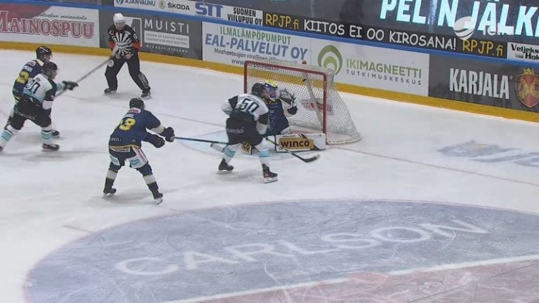 Video: Juhamatti Aaltonen taiteili Pelicansin voittomaalin – kärkimiina ja tyly viimeistely