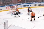 Video: Amurin Marek Langhamer venytti komean torjunnan KHL:ssä