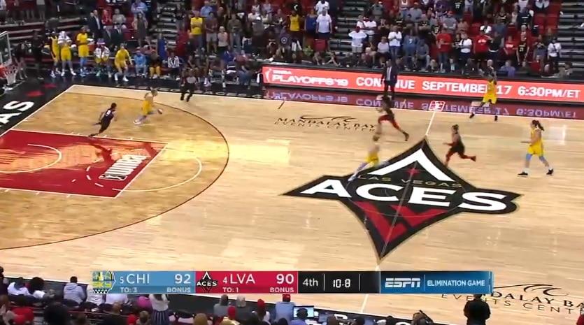 Video: Naisten NBA:n konferenssifinaali sai uskomattoman loppuratkaisun