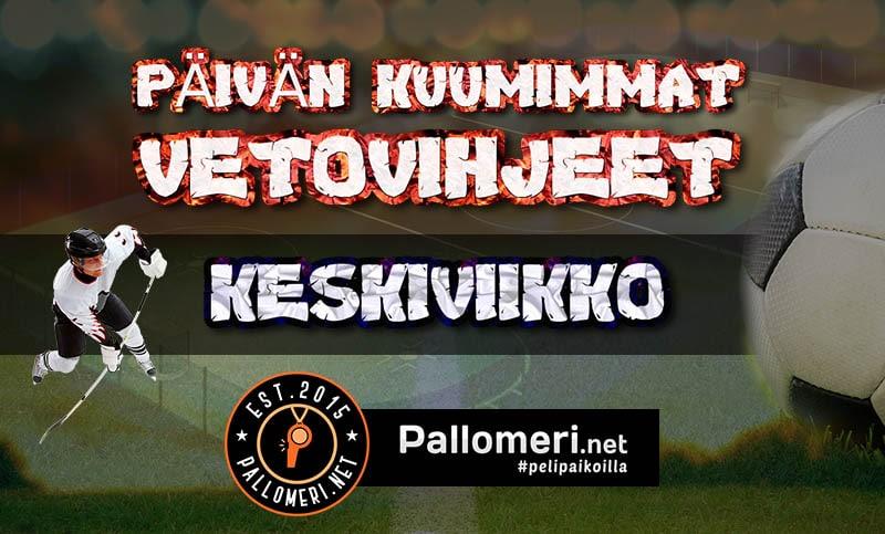 Vetovihjeet: Liiga ja KHL tarjoilevat erinomaisen tuplan keskiviikolle!