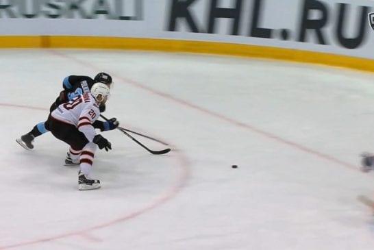 Video: Teemu Pulkkinen teki huikean esityön voittomaaliin KHL:ssä