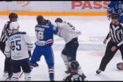Video: SKA:n Sergei Plotnikov teki Gordie Howe -hattutempun