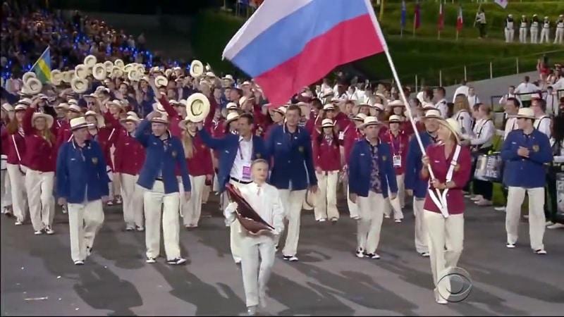 Venäjä olympiajoukkue WADA Venäjän