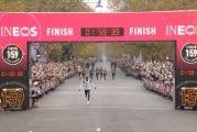 Video: Eliud Kipchoge teki sen! - Maaginen 2 tunnin raja alittui maraton-matkalla