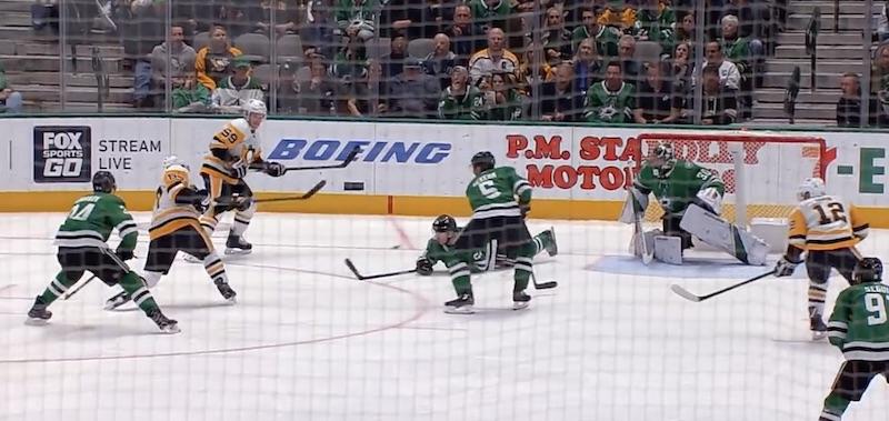 Video: Sidney Crosby tulitti – Esa Lindell pysäytti kiekon naamallaan