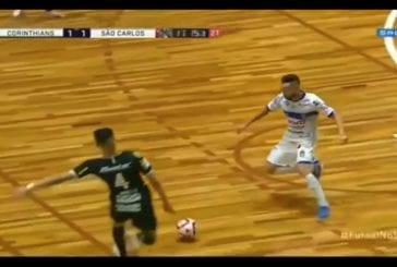 Video: Karmiva tilanne futsal-pelissä - Fernandinho sai potkun päähän ja menetti tajuntansa