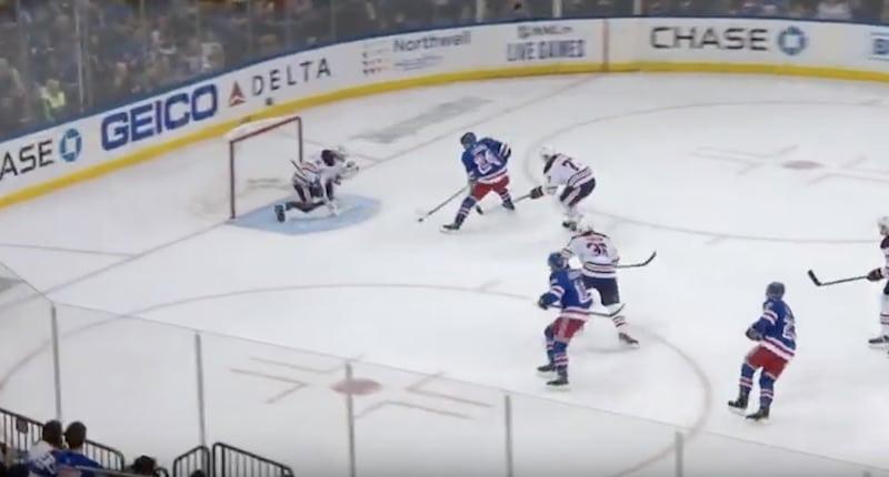 Video: Kaapo Kakko painoi fantastisella tavalla NHL-uransa avausmaalin