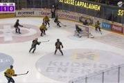 Video: Liigassa nähtiin uskomaton onnenkantamoinen - KalPa teki kauden omituisimman maalin