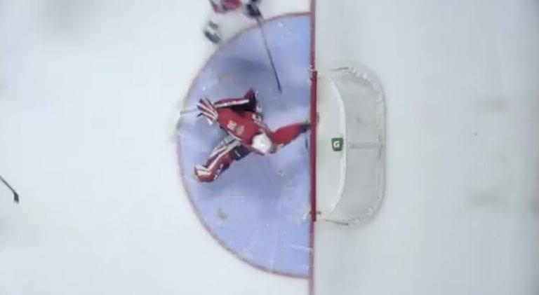 Video: Kanadan juniorisarjassa OHL:ssä nähtiin mieletön torjunta