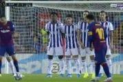 Video: Suoranaista taidetta! Lionel Messi laukoi jäätävän vaparimaalin