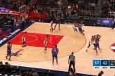 Video: NY Knicksin Marcus Morris lensi suihkuun todella erikoisen tempun saattelemana