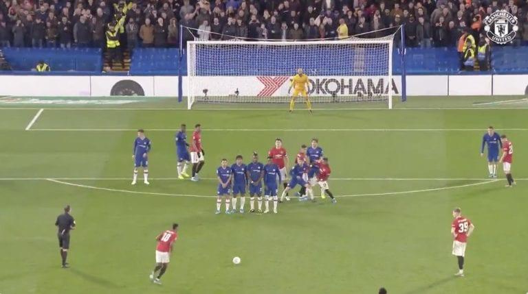 Video: Marcus Rashford laukoi timanttisen vaparimaalin Englannin liigacupissa