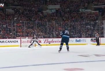 Video: Patrik Laine iski ratkaisuosuman rankkareissa - Jets kaatoi Oilersin 1-0