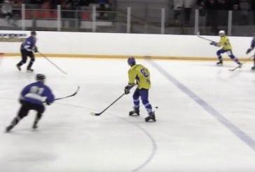 Video: Suomen 3. divisioonassa nähtiin järjetön tappotaklaus