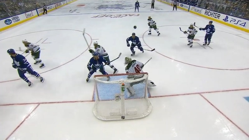 Toronto Maple Leafs Minnesota Wild Andreas Johnsson / Pallomeri.net