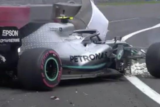 Video: Valtteri Bottas ajoi rajusti ulos Meksikon GP:n aika-ajoissa