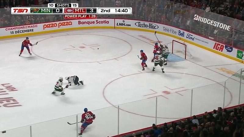 Joel Eriksson Ek Minnesota Wild / Pallomeri.net