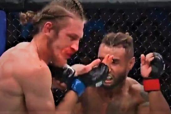 Video: Thomas Gifford tyrmättiin karusti UFC:ssä - kommentaattori ja fanit kuumana