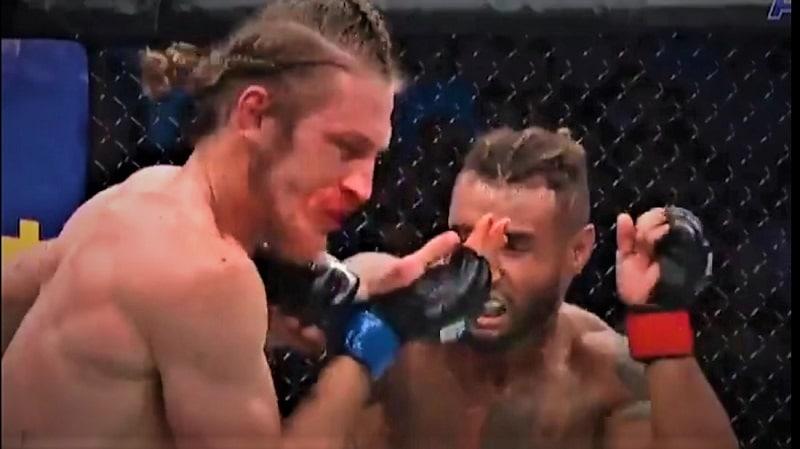 Video: Thomas Gifford tyrmättiin karusti UFC:ssä – kommentaattori ja fanit kuumana