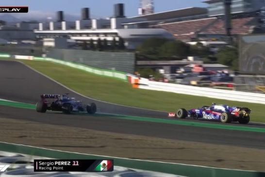 Japanin F1 GP:ssä uskomaton moka - ruutulippua heilutettiin kierrosta liian aikaisin