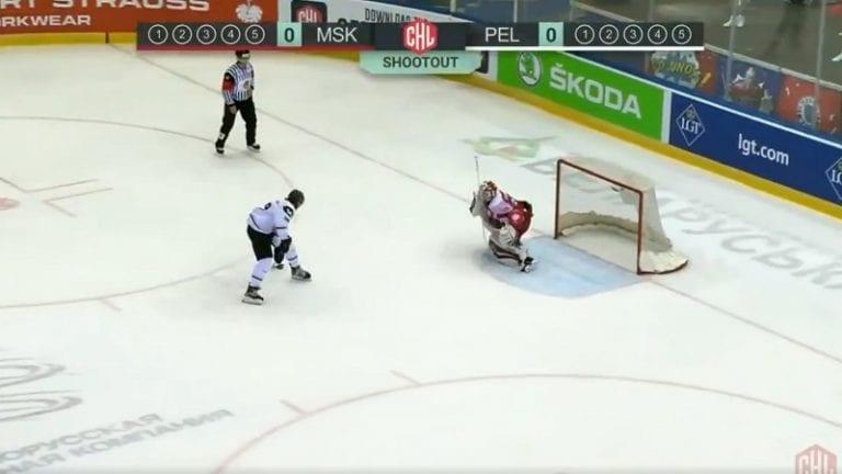 Video: Pelicansin Severi Lahtinen veivasi käsittämättömän rankkarimaalin CHL:ssä