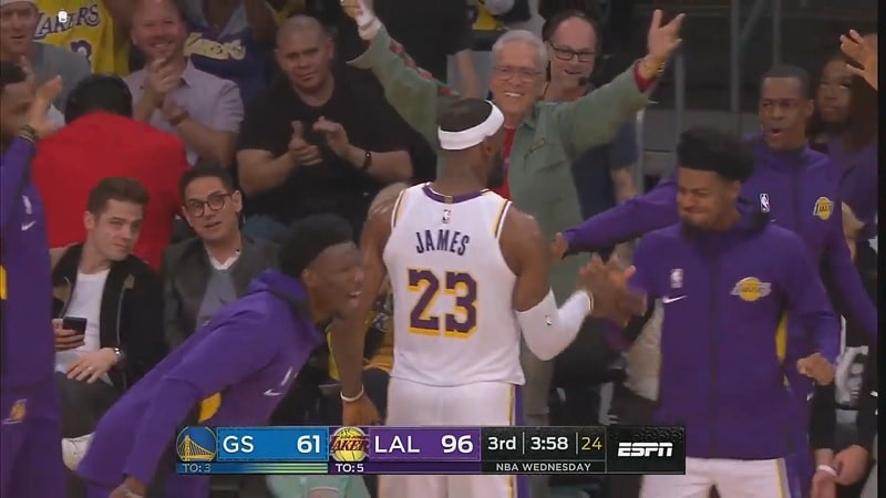 LeBron James Los Angeles Lakers / Pallomeri.net