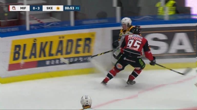 Video: Taklaus kajahti suoraan päähän SHL:ssä – Carl Persson joutuu kurinpitokäsittelyyn