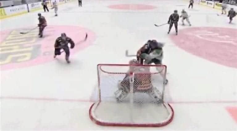 Video: Djurgårdenin Jesper Pettersson puski törkeästi vastustajaa päähän SHL:ssä