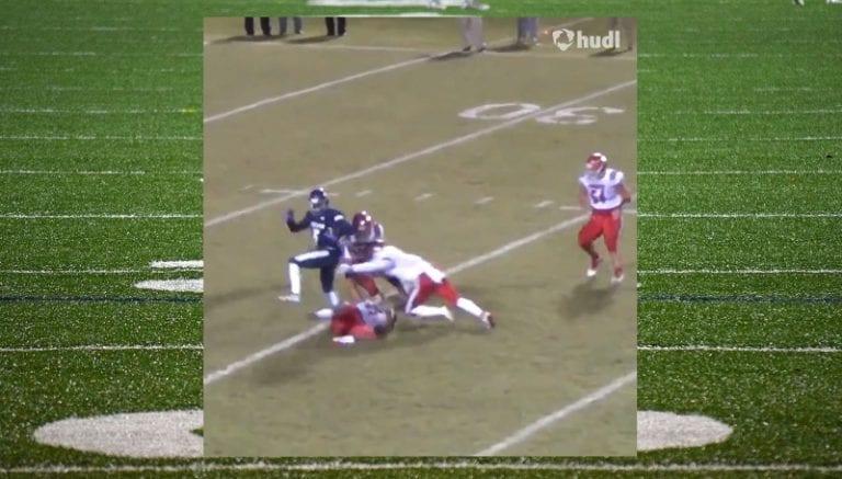 Video: Daniel Smith karisti vastustajat huikealla pyörähdysliikkeellä ja juoksi 69 jaardin touchdownin