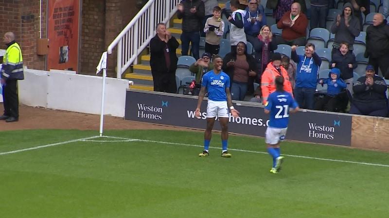 Ivan Toney Peterborough United / pallomeri.net