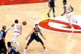 Video: Trae Young nolasi vastustajan NBA:ssa - pisti pallon puikoista läpi ja ajoi korille