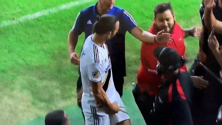 Video: Zlatan Ibrahimovic jätti MLS-kentät tyylilleen uskollisena – rivo ele vastustajan fanille ja värikkäät lausunnot lehdistölle