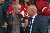 Video: Justin Dowling teki NHL-uransa avausmaalin - äiti missasi maalin ja punastui tv-haastattelussa